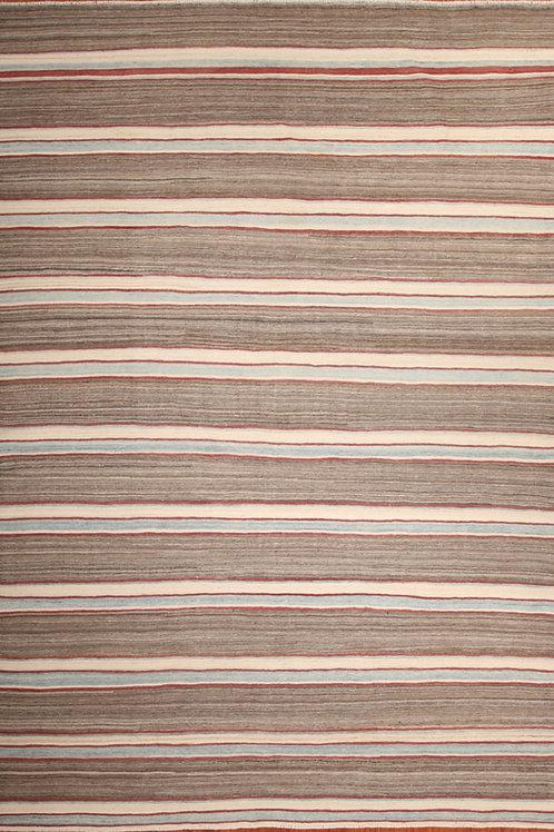 Wool Afghanistani Rug Kilim | 8.6 X 11.9