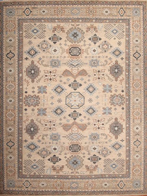 Wool Indian Rug | 8.1 X 10.5