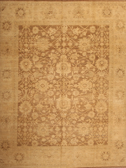 Wool Pakistani Rug | 7.9 X 9.9