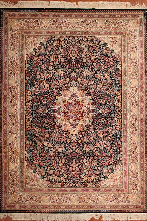 Wool Chinese Persian Design Rug | 8.2 X 11.2