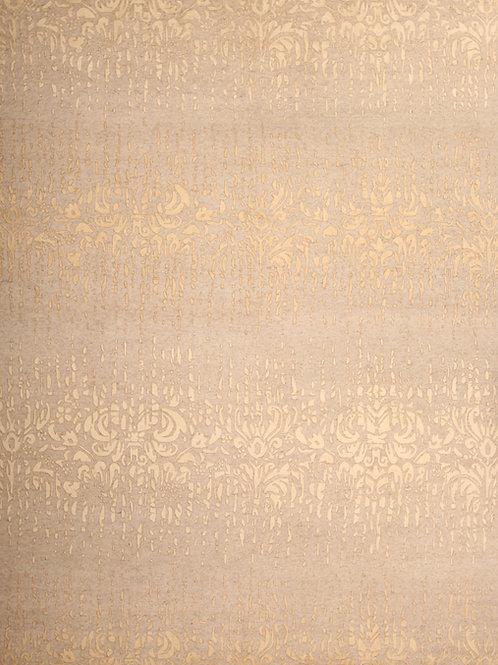 Wool & Viscose Indian Rug | 7.10 X 9.10