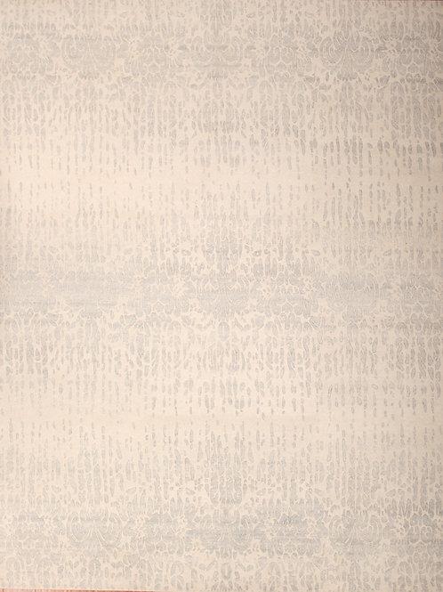 Wool & Viscose Indian Rug | 7.11 X9.10