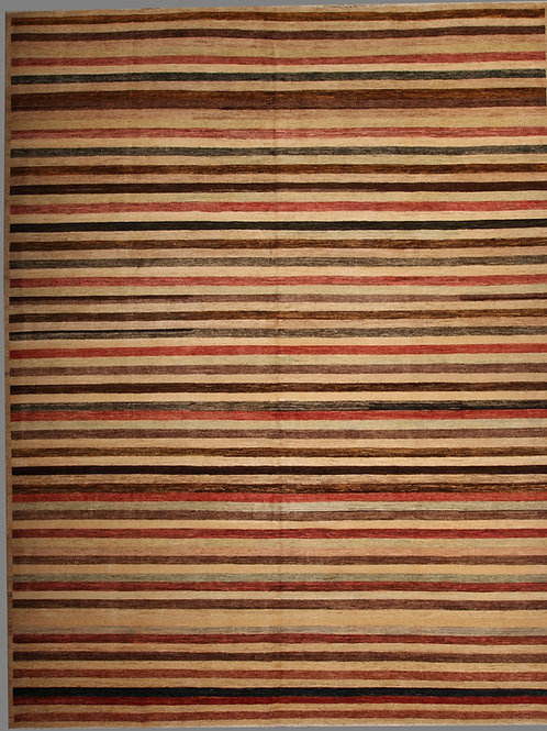 100% Wool Pile Gabbeh | 10 X 13