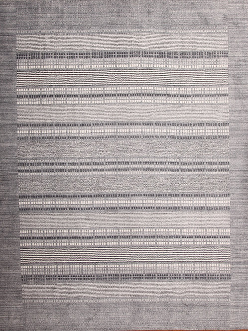 Wool Indian Rug | 8.1 X 9.10