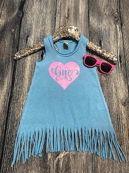 Fringe Dress |  ONE