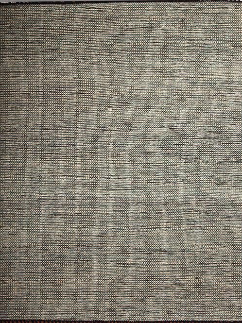 Handmade Indian Rug Jute and Wool Durrie | 8 X 10