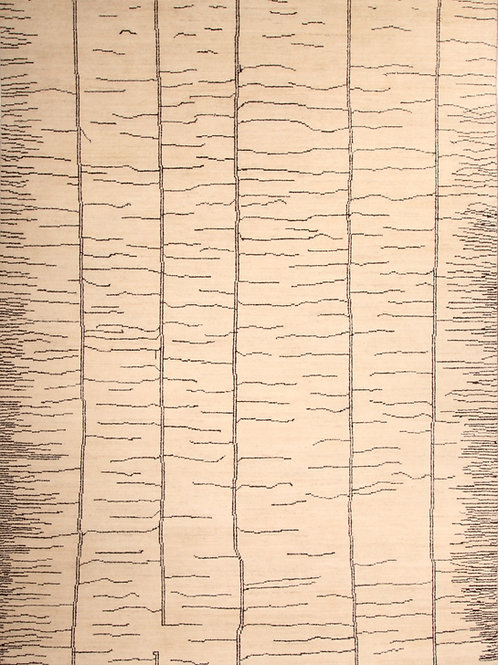 Wool Afghanistani rug   8.8 X 11.10