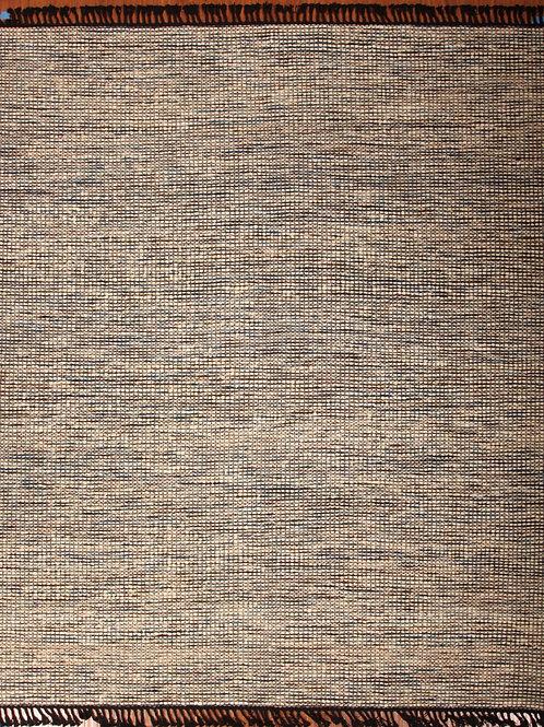 Wool Indian Flat Weave Rug | 8.0 X 10.0