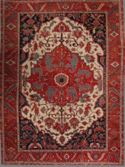 Antique Serapi | 11.8 X 15.5