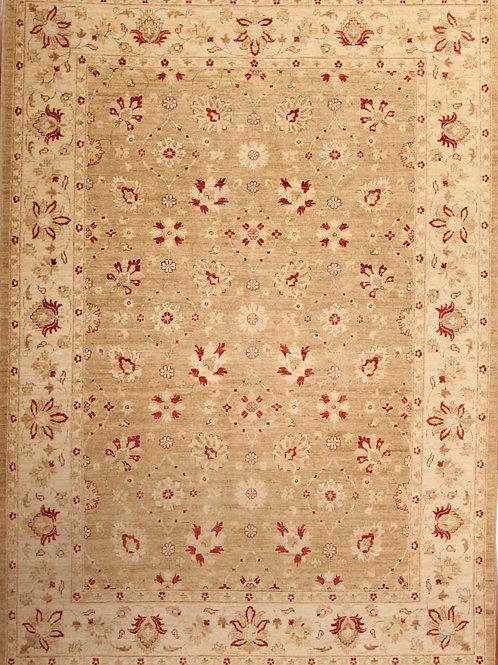 Wool Vintage Pakistani Rug | 7.0 X 9.9