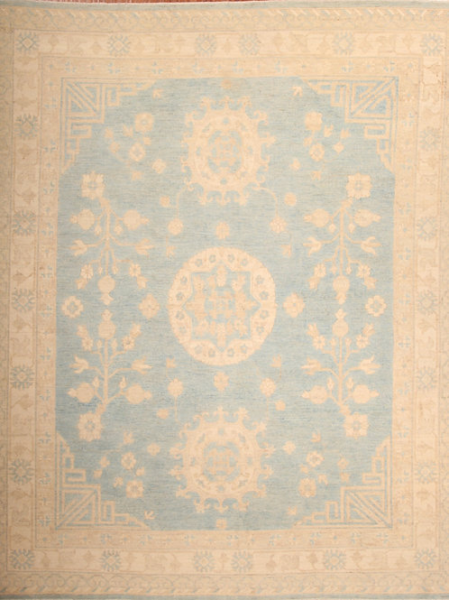 Wool Afghanistani rug | 8.2 X 9.10