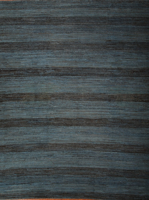 Wool Afghanistani rug   9.2 X 10.9