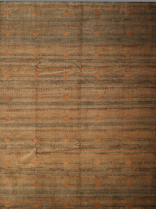 Handmade 100% Wool Pile Rug | 8 X 9.9