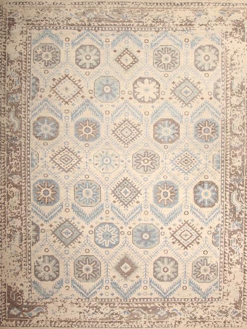 Wool Indian Rug | 8.0 X 10.2