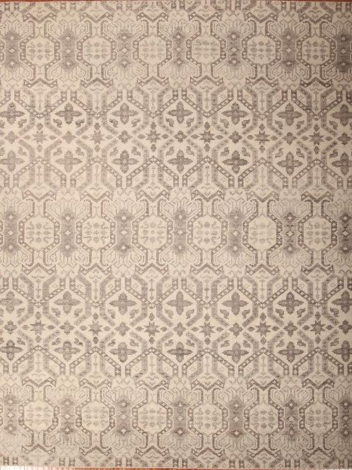 Wool Indian Rug | 8.1 X 10.2