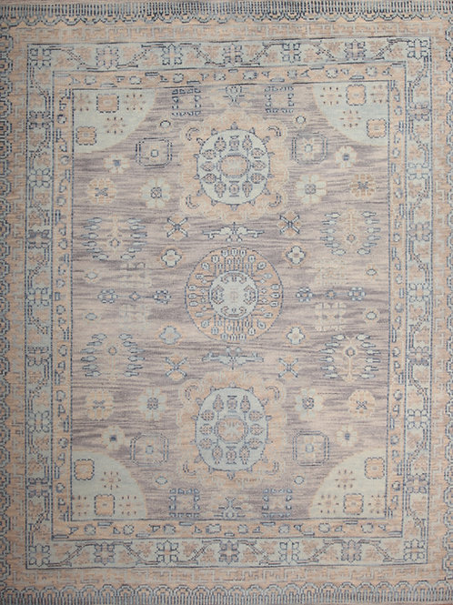 Wool Indian Rug | 8.0 X 10.0