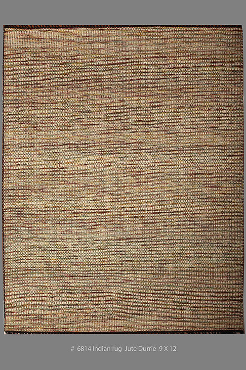 Indian Rug Jute Durrie | 9 X 12