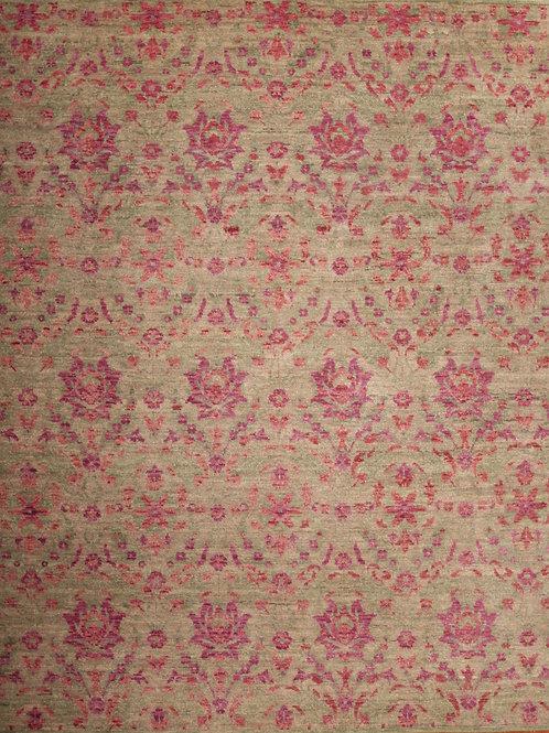 Wool Indian Rug | 8.3 X 10.2