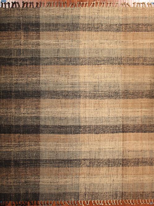 Wool & Jute Indian Rug | 8.5 X 10.0