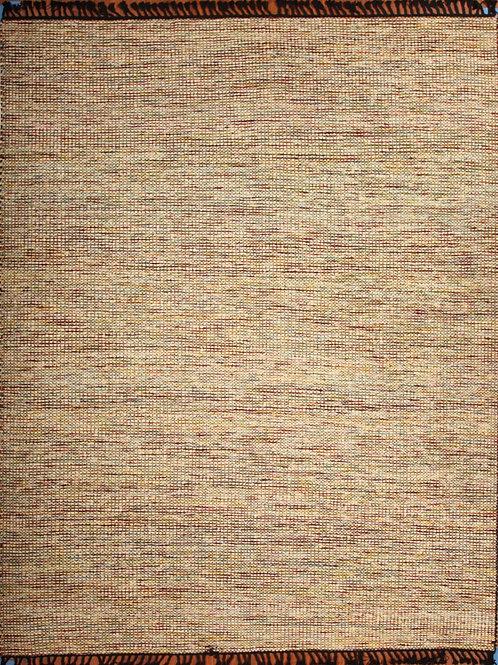 Wool Indian Flat Weave Rug | 9.0 X 12.0
