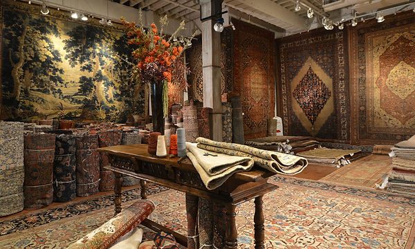 Rug Gallery specializes in washing Persian and oriental wool or silk rugs with natural rug cleaning techniques in San Francisco, San Mateo & Marin California
