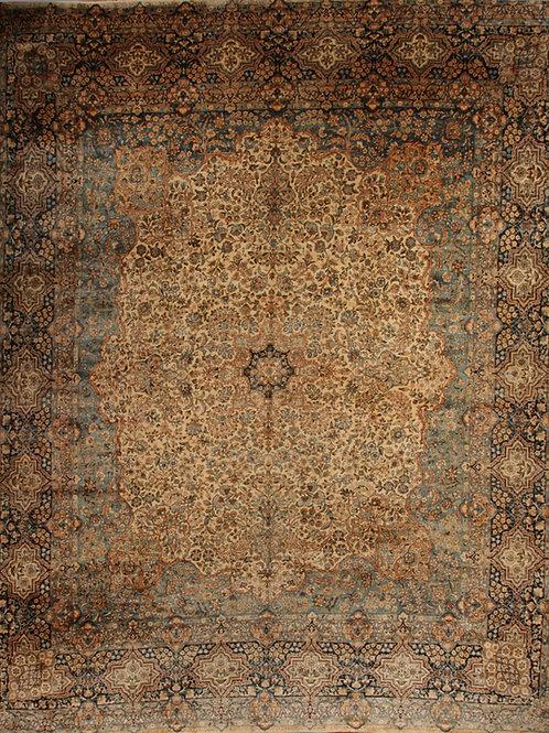 Antique Persian Rug Kerman | 13 X 16.8