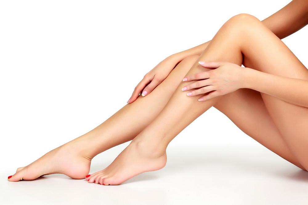 Pernas femininas e bem torneadas