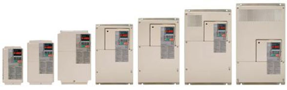 Yaskawa U1000 Variable Frequency Drive Range