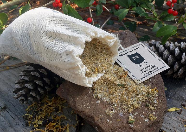 Calendula Mint Foot Soak