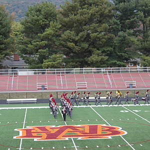 William Byrd H.S. Band Competition