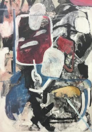 (2019) Composition. [Oil on canvas]. Farnham, UK