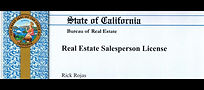 California bureau of real estate sales person license