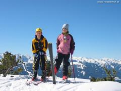 Schi fahren