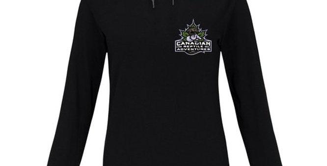 Anvil� Women's Lightweight Long Sleeve Hooded T-Shirt