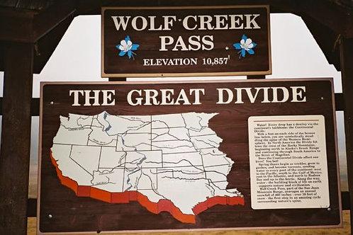 Landmark: Wolf Creek Pass