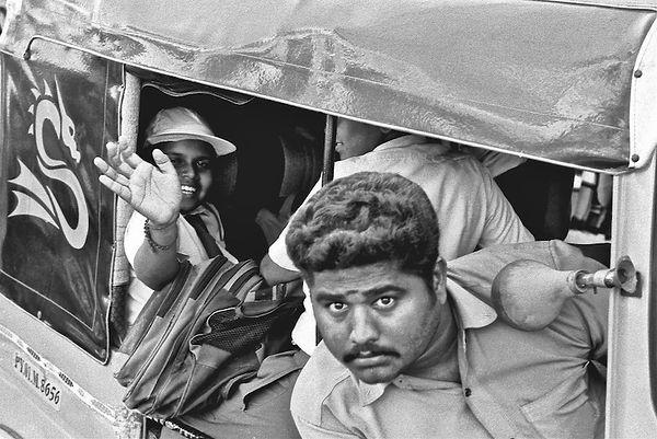 Cnducteur de rickshaw - Etat du Tamil Na