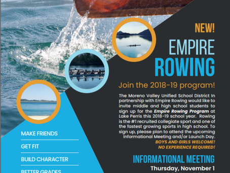 MVUSD presents: New Rowing Sports Program for Middle and High School Students