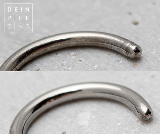 Piercing Schmuck Vergleich