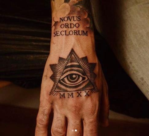 Neo Traditional Hand - Madet Tattoo