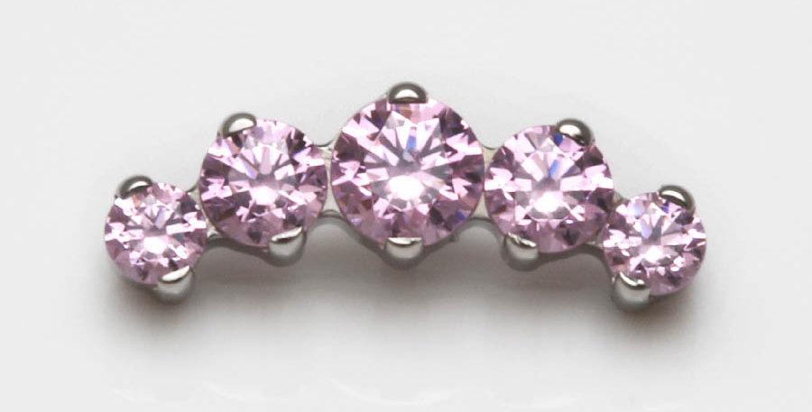 Piercing Schmuck Helix rosa