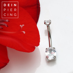 Bauchnabelpiercing Oval