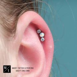 Helix Piercing Industrial Strength