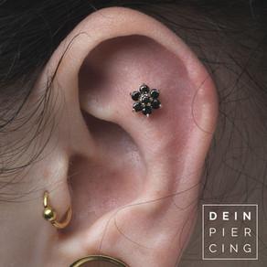 Flat Helix Piercing