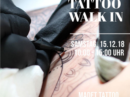 WALK IN - Tattoos