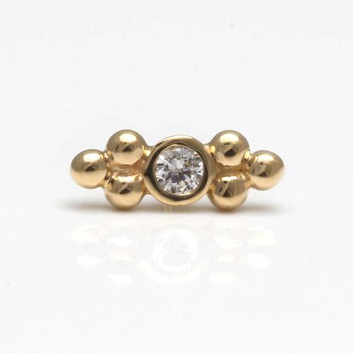 Helix Piercing Gold