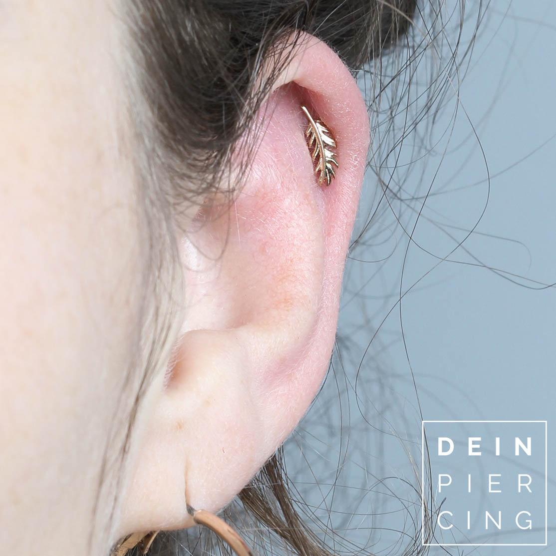1 Helix Piercing