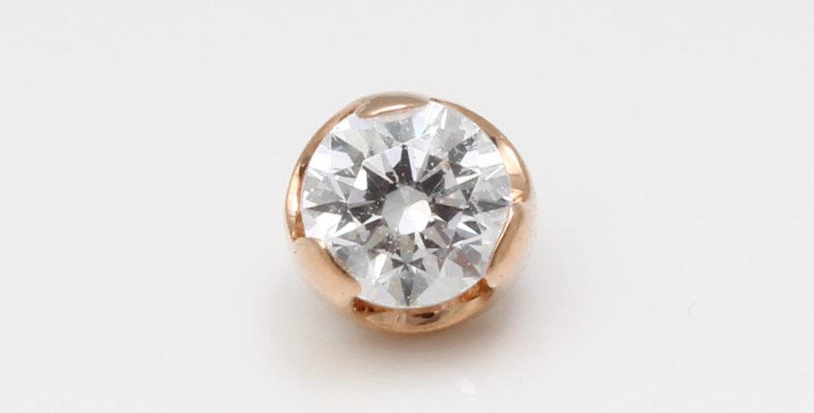 Rosegold piercing