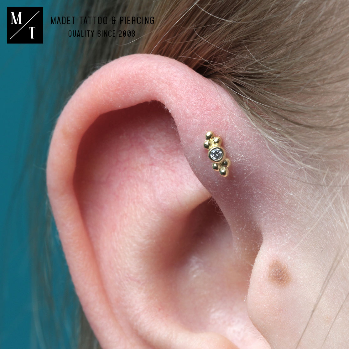 Forward Helix Piercing Anatometal