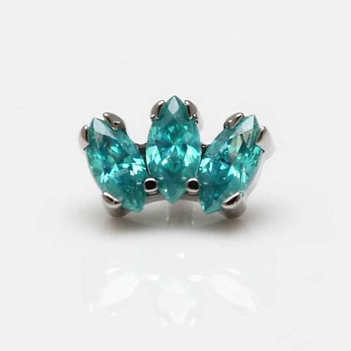 Helix Piercing Mint Green