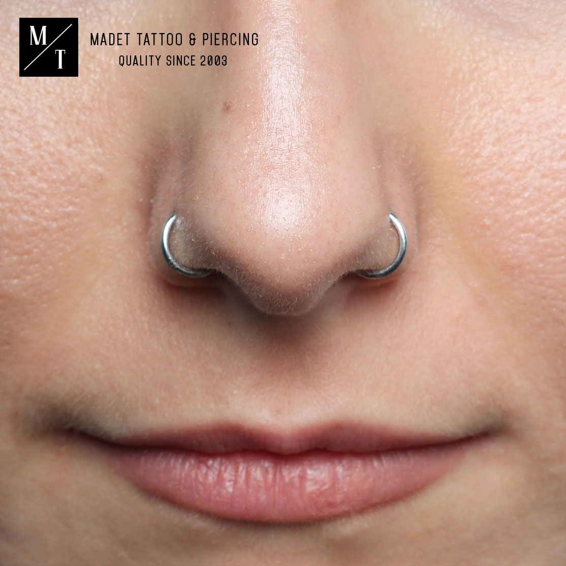 Double Nostril Piercing